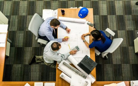 Dobrze zaprojektowana przestrzeń biurowa